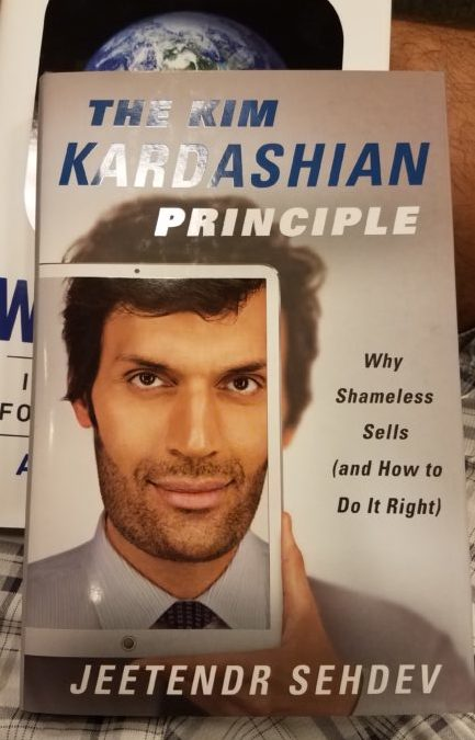 Notes on The Kim Kardashian Principle by Jeetendr Sehdev