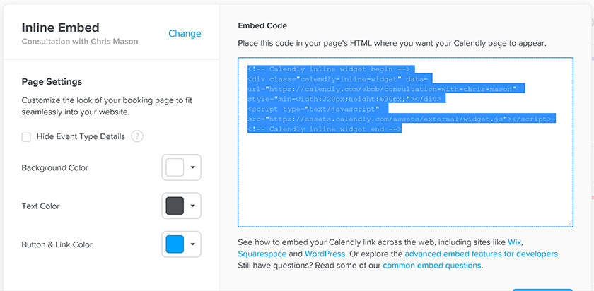 Copy Embed Code